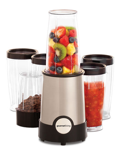 Gourmet Living 17-Piece Rocket Blender-STAINLESS STEEL-One Size