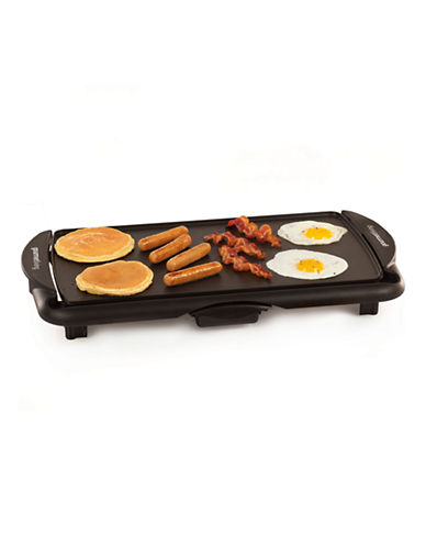 Gourmet Living Jumbo Non-Stick Griddle-BLACK-One Size