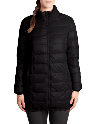 Modern Eternity Savannah Lightweight Maternity Jacket-BLACK-Medium