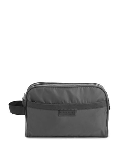 Perry Ellis Water Resistant Cosmetic Bag-GREY-One Size