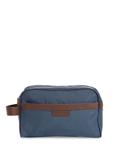 Perry Ellis Water Resistant Cosmetic Bag-NAVY-One Size