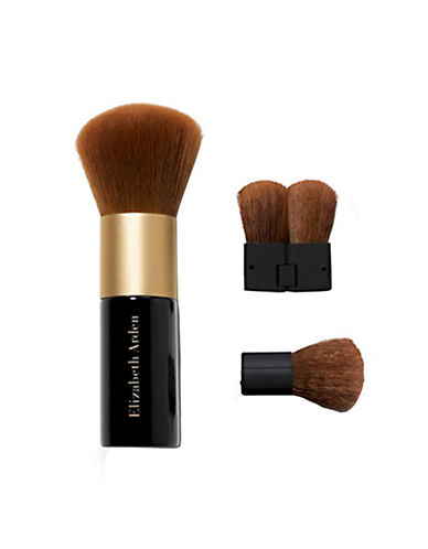 Elizabeth Arden Pure Finish Mineral Powder Foundation Face Brush With Mini Kabuki-NO COLOUR-One Size