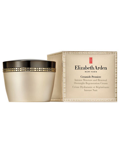 Elizabeth Arden Ceramide Premiere Intense Moisture and Renewal Overnight Regeneration Cream-NO COLOUR-50 ml