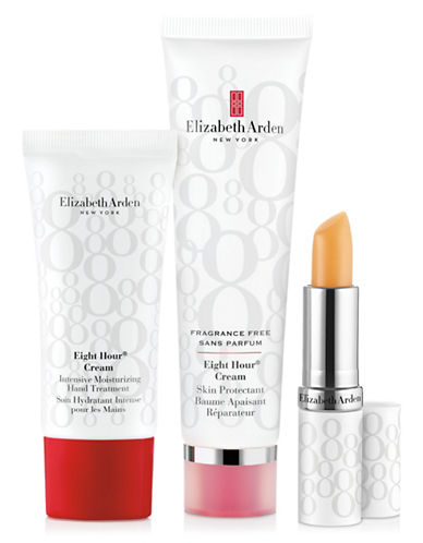 Elizabeth Arden Eight Hour Cream Skin Protectant Fragrance Free Three-Piece Set-NO COLOR-One Size