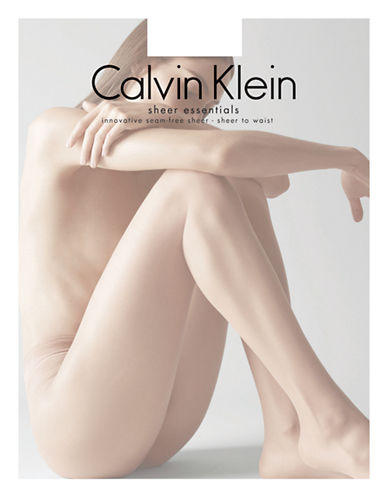 Calvin Klein Seamless Sheer-BLACK-C