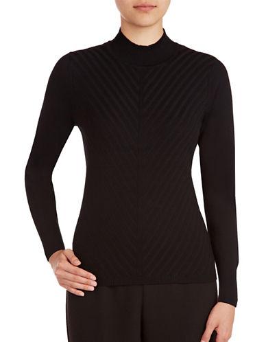 Allison Daley Mock Neck Pullover-BLACK-Large 88811219_BLACK_Large