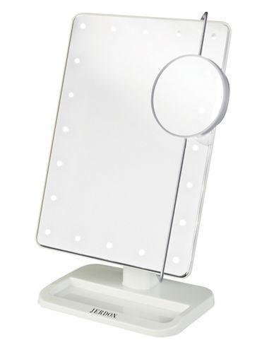 Jerdon LED Light Make Up Mirror-WHITE-One Size