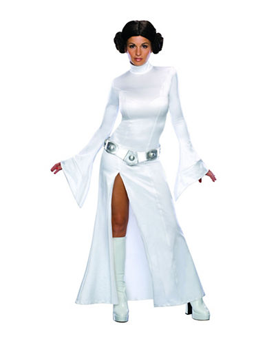 Rubies Costumes Princess Leia Costume-WHITE-Small