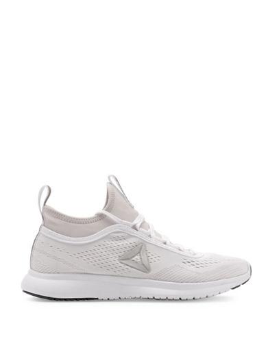 Reebok Womens Plus Runner Tech Sneakers-WHITE-9.5