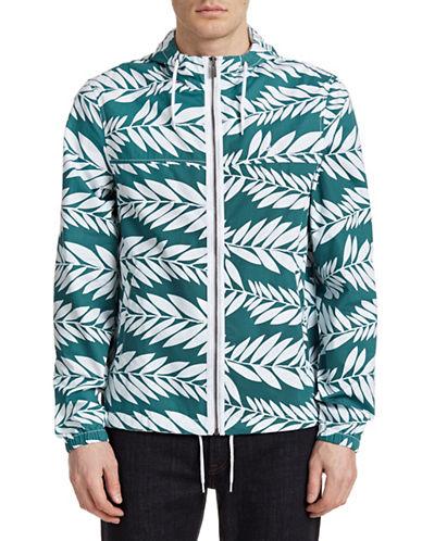 Original Penguin Palm Print Jacket-GREEN-Small 88244782_GREEN_Small