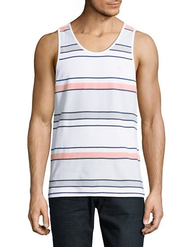 Original Penguin Engineered Stripe Tank-BLUE-Medium 89042610_BLUE_Medium