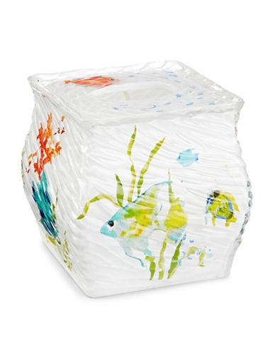 Creative Bath Rainbow Fish Tissue Cover-WHITE-One Size