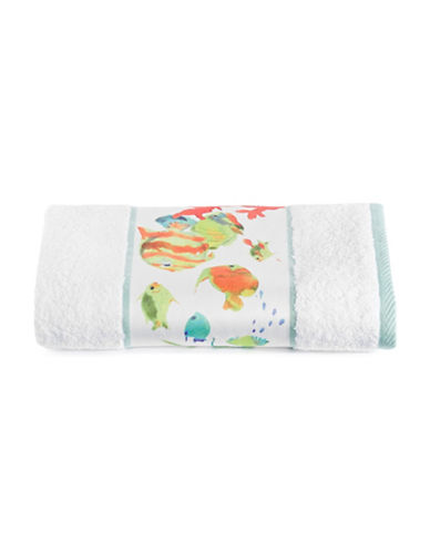 Creative Bath Rainbow Fish Bath Towel-WHITE-Bath Towel