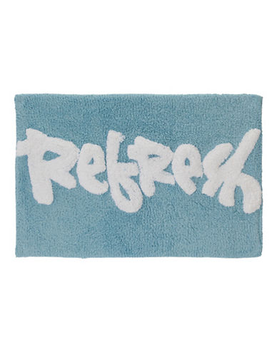 Creative Bath Cotton Bath Rug-BLUE-20x30