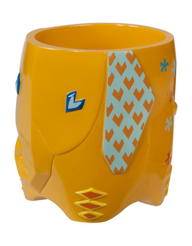 Creative Bath Origami Jungle Tumbler-YELLOW-One Size