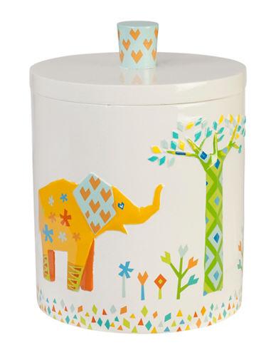 Creative Bath Origami Jungle Covered Jar-MULTI-One Size