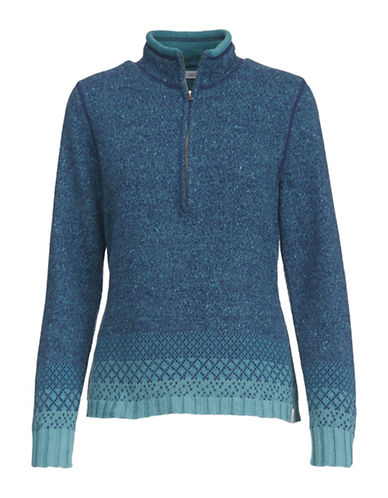 Woolrich Tanglewood Sweater-BLUE-Large