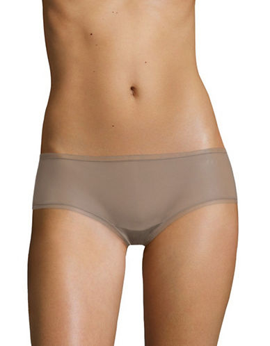Dkny Litewear Hipster Briefs-SANDAL WOOD-Small