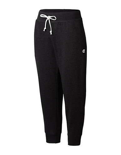 Champion French Terry Capri Pants-BLACK-X-Small 90026461_BLACK_X-Small