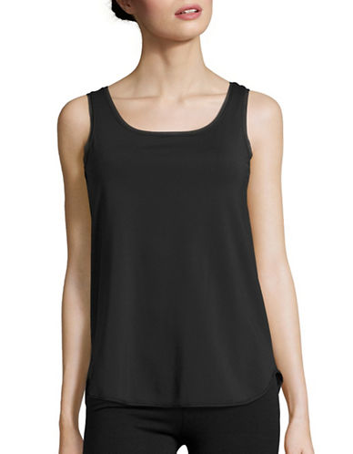 Maidenform Slimming Tank Top-BLACK-Large 88603794_BLACK_Large