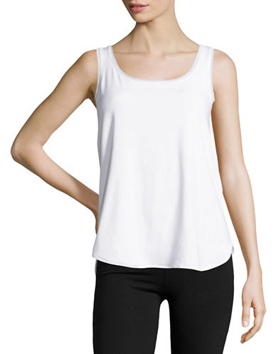 Maidenform Slimming Tank Top-WHITE-X-Large