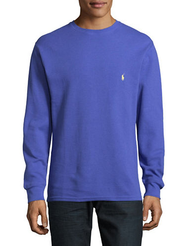 Polo Ralph Lauren Cotton Sweatshirt-BLUE-X-Large