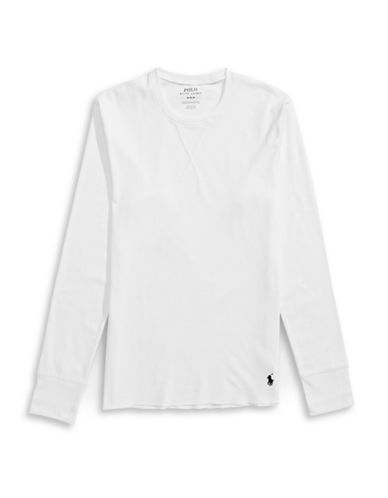Polo Ralph Lauren Long John Top-WHITE-Small