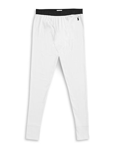 Polo Ralph Lauren Long John Pants-WHITE-Medium