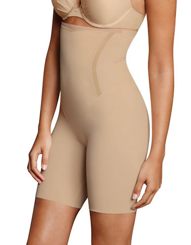 Maidenform DM5001 Thigh Slimmer-BEIGE-Small