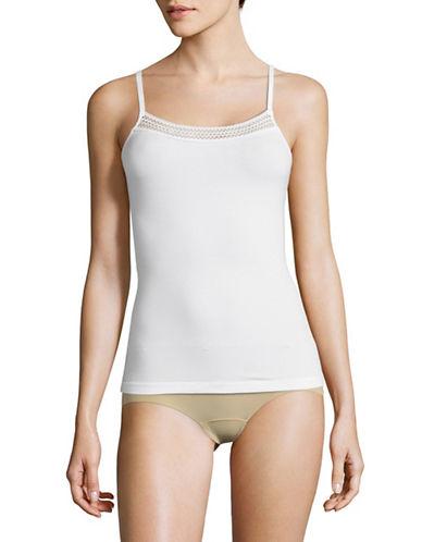 Dkny No Panty Line Tactel Bikini Panty-POPLIN WHITE-Large