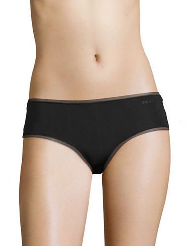 Dkny Litewear Hipster Briefs-BLACK-Small
