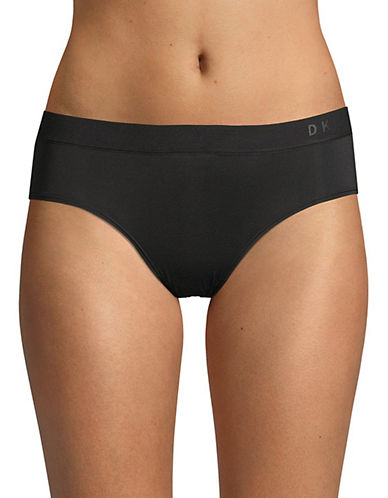 Dkny Classic Boy Shorts-BLACK-Medium