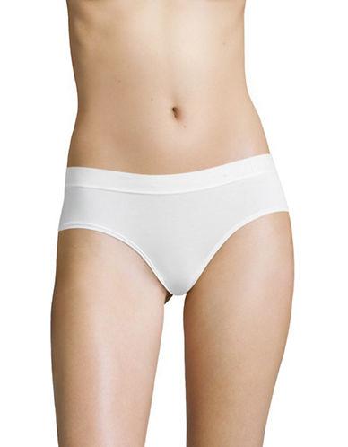 Dkny Classic Boy Shorts-POPLIN WHITE-Large