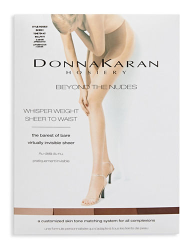 Donna Karan Sheer To Waist Pantyhose-BEIGE-Small