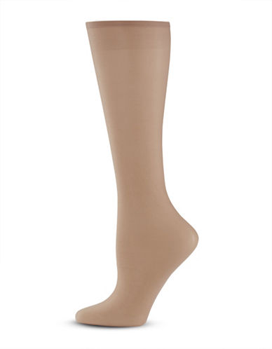 Donna Karan Knee High Hosiery-TONE B02-One Size