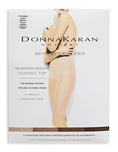 Donna Karan Control Top Panty-BEIGE-Medium