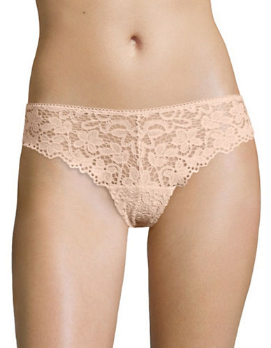 Dkny Classic Lace Thong-BLUSH-Medium