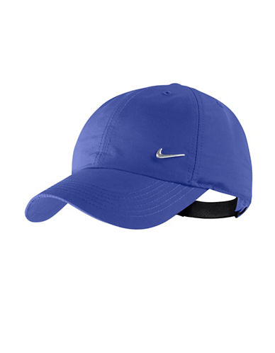 Nike H86 Logo Baseball Cap-BLUE-One Size