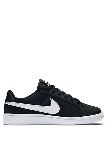 Nike Two-Tone Sneakers-BLACK-5.5