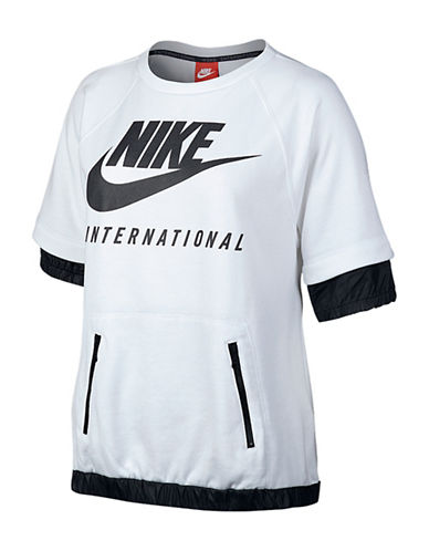 Nike International T-Shirt-WHITE-Medium 88551618_WHITE_Medium