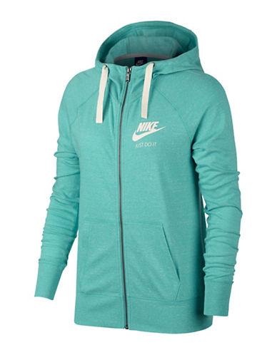 Nike Sportswear Hoodie-GREEN-Large