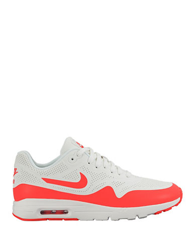 Nike Womens Air Max 1 Ultra Moire Sneakers-WHITE-5