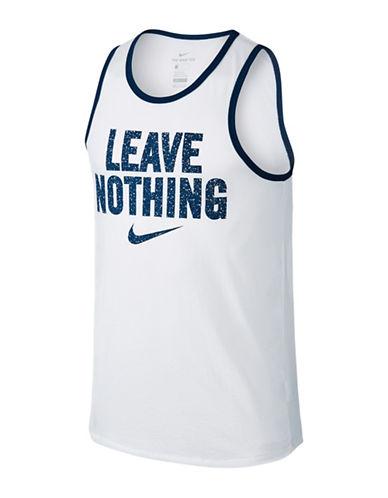 Nike Printed Dry Training Tank-WHITE-X-Large 89157340_WHITE_X-Large