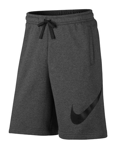 Nike Active Fleece Shorts-GREY-Small 89692758_GREY_Small