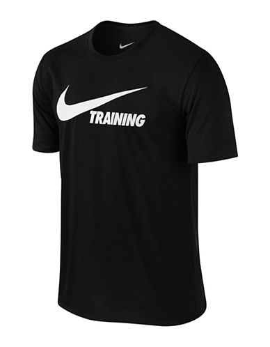 Nike Training Swoosh Tee-BLACK-Small 89692677_BLACK_Small