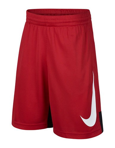Nike Dry Basketball Shorts-RED-Small 89998929_RED_Small