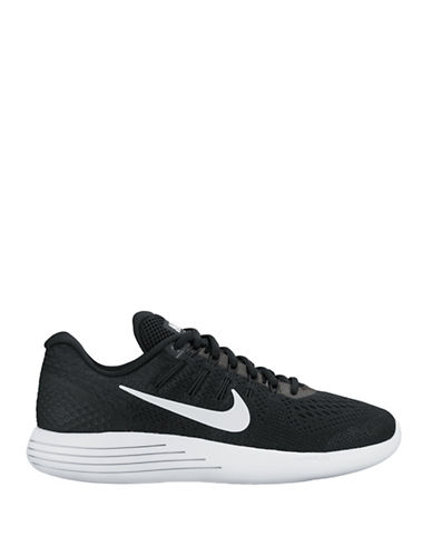Nike Womens Lunarglide 8 Sneakers-BLACK-8
