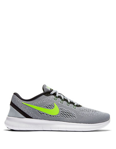 Nike Free Run Knit Sneakers-GREEN-9 88582854_GREEN_9