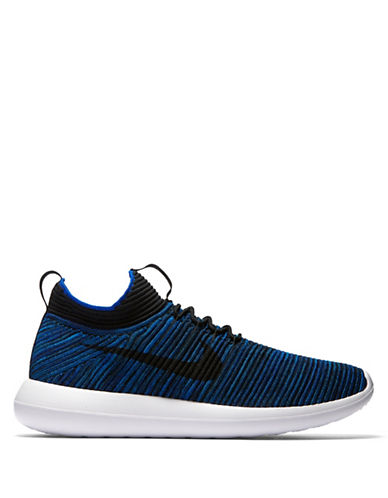 Nike Roshe Two Flyknit V2 Sneakers-BLUE-10