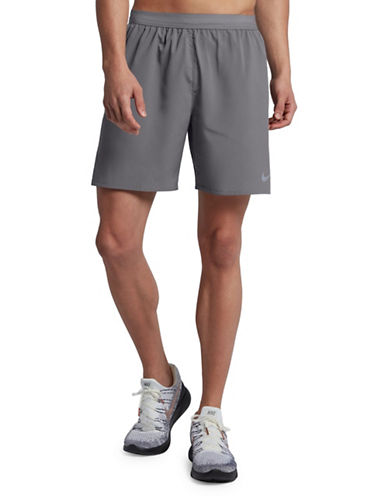 Nike Flex Stride Running Shorts-GREY-Small